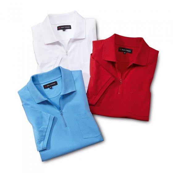 Jersey-Poloshirt 3er-Pack