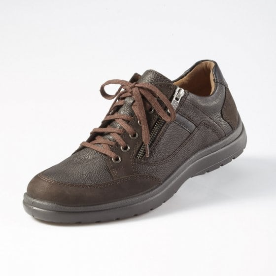 Airc.Schuh m.Reißverschl.,Brau 43 | Braun