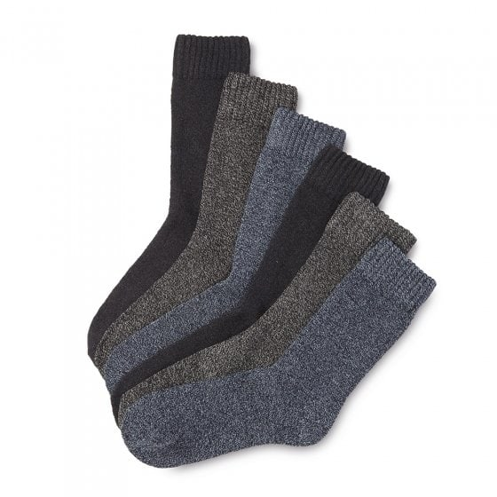 Baumwoll Mouliné Socken 6er-Pack 39/42