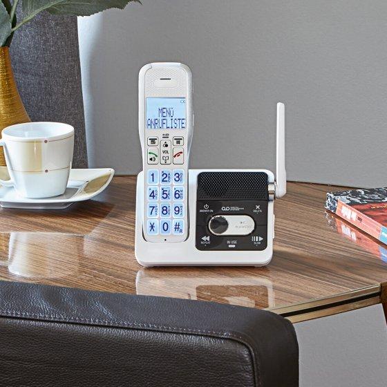 Schnurlos-Telefon mit Funktürklingel