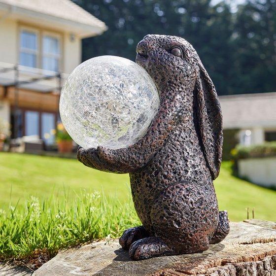 Solarleuchte Hase