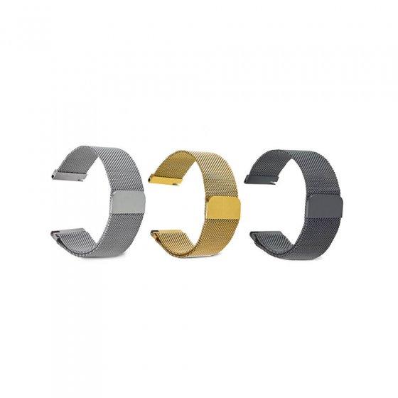 Milan.-Armb.m.Magnetversc.Gold 20 (20 cm) | Gold
