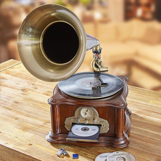 Grammophon mit Aufnahmefunktion