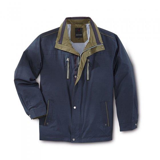 Jacke im Baumwollmix