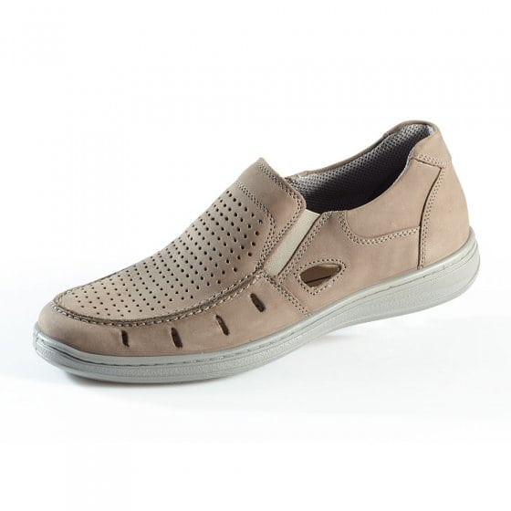 Aircomfort Stretchslipper,taup 40 | Taupe
