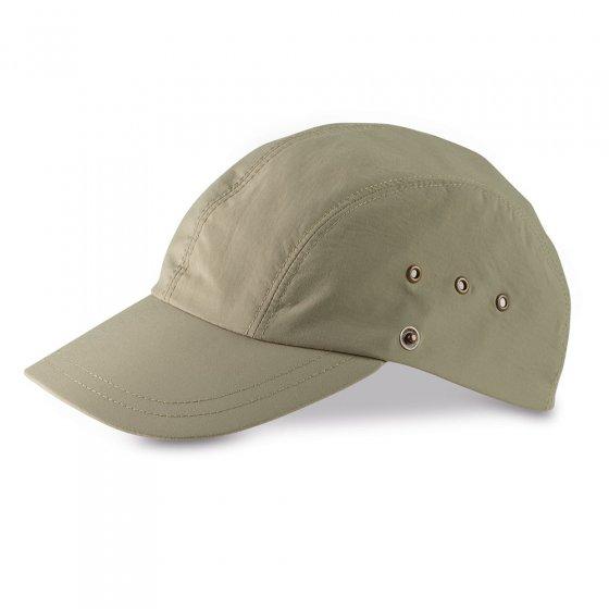 Kappe mit abnehmbarem Nackenschutz