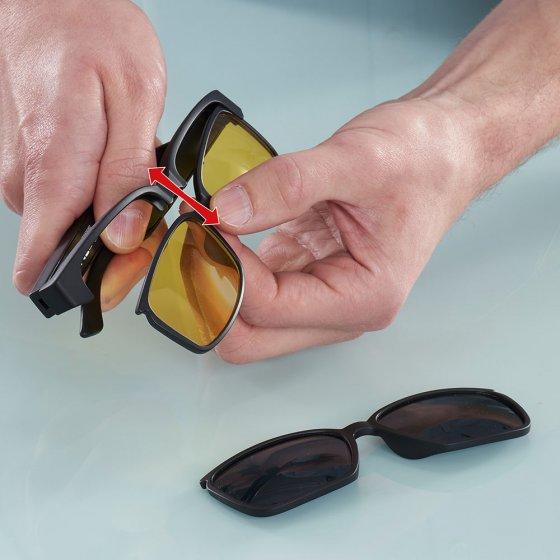 Sicherheits-und Kontrastbrille