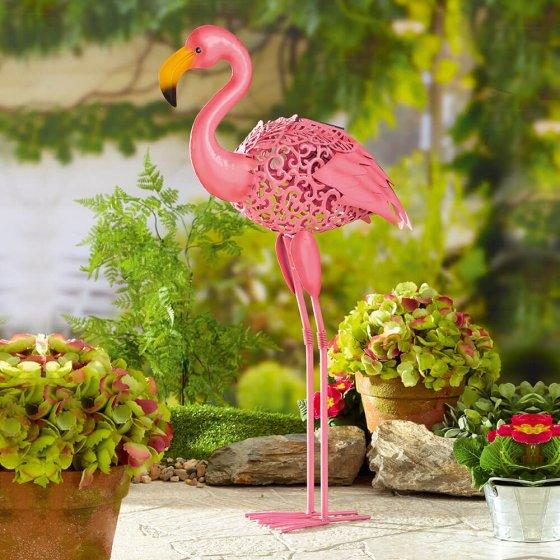 Solar-Garten-Flamingo