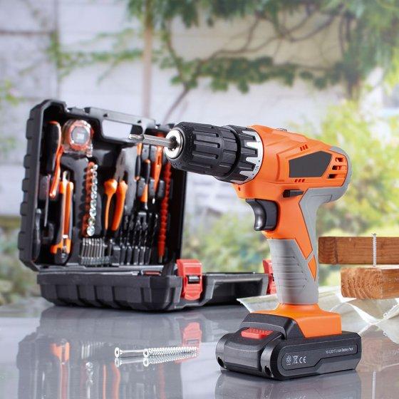 Werkzeugkoffer mit Akkuschrauber