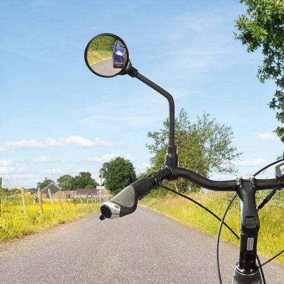Schwanenhals-Fahrradspiegel 3D