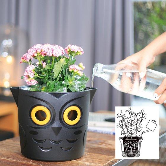 Pflanztopf mit Bewässerungsindikator