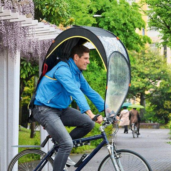 Mobiles Fahrrad-Regendach