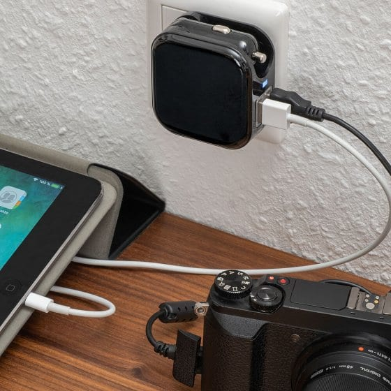 2in1 Kfz-USB-Ladegerät