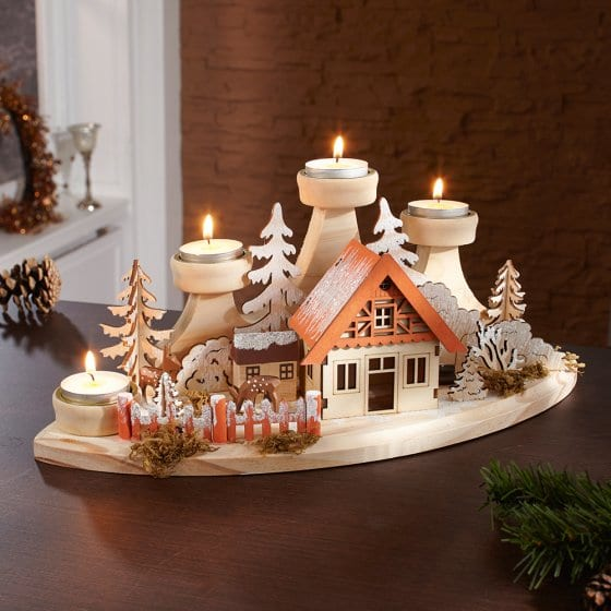 Advents-Teelichthalter