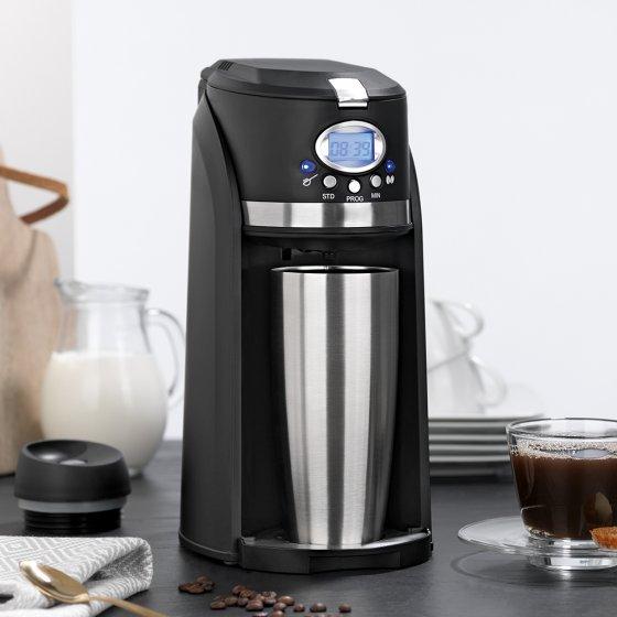 Mini-Kaffeemaschine mit Mahlwerk