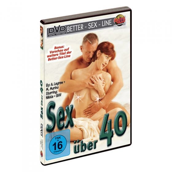 "Erotik-DVD ""Sex über 40"""
