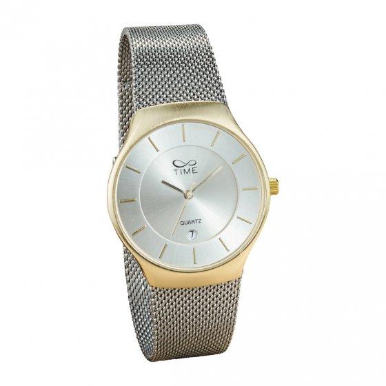 "Milanaise-Armbanduhr ""Bicolor"""
