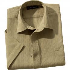 Strukturhemd mit Reißverschluss-2