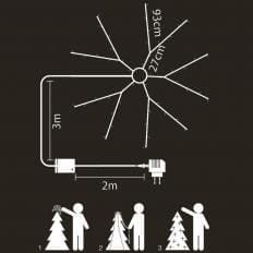 Selbstschmückende LED-Lichterkette-2