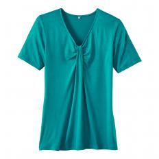 Shirt mit ½-Arm und Raff-Effekt-2