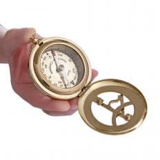 Nostalgie Sonnenuhr mit Kompass-2
