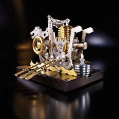 Stirlingmotor Wikingerschiff-2