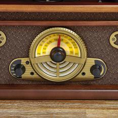 Retro-Stereoanlage mit Aufnahmefunktion-2