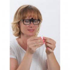 Lupenaufsatz für die Brille-2