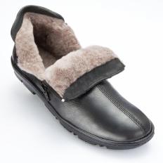 Schafsfell-Reißverschluss-Schuh-2