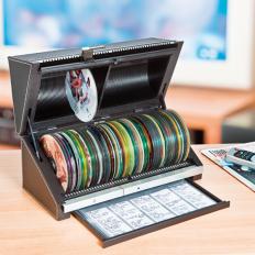 Automatische CD/DVD Archivbox-2