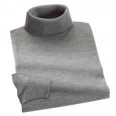 Luxus-Rollkragenpullover mit Seide-2