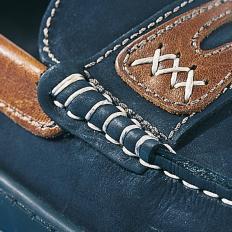 Boots-Mokassins aus Glatt-und Nubukleder-2