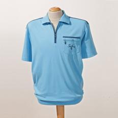 Her.Komfort Poloshirt,Aqua,3XL-2