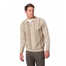 Polo-Pullover mit Brusttasche-2