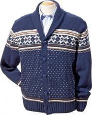 Strickjacke im Norweger-Stil-2