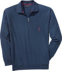 Langarm-Poloshirt,Marine,XXL-2