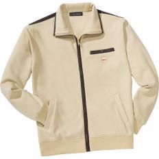 Sweater-Jacke mit Polarfutter-2