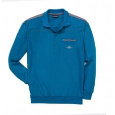 Polo-Langarmshirt,SET,3XL-2