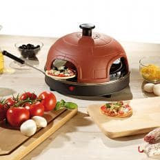 Pizzaofen mit Terrakotta-Haube-2