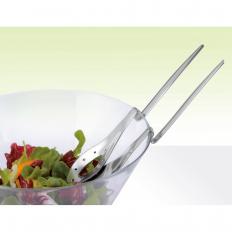 Salatbesteck mit Knick-2