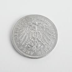 """Silbermünzsatz """"Kaiser Wilhelm II.""""-2"""