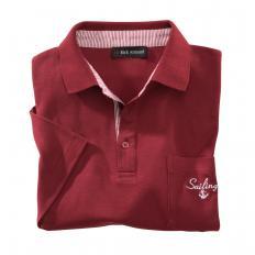 Maritimes Polo-Shirt,rot,XXL-2