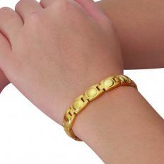 Vergoldetes Magnet-Armband-2
