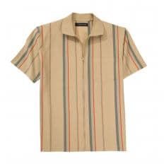 Polo-Shirt mit Ganzreissverschluss-2