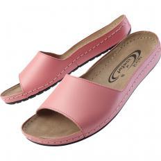 Pantolette mit Softleder-Fußbett-2