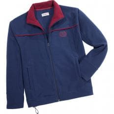 Thermo-Fleece Jacke,Marine-2