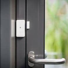 Ultraflacher Türen- und Fensteralarm - 3er Set-2