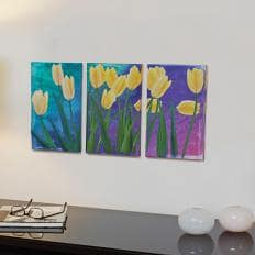 3-teiliges Wandbild-2
