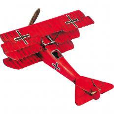 """Blechmodell Fokker """"Roter Baron""""-2"""