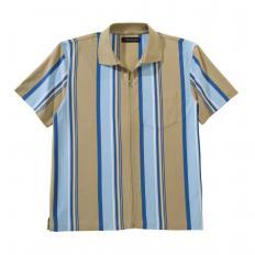Jersey-Shirt mit Ganzreißverschluss-2